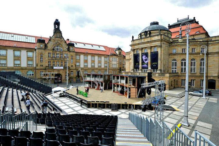 Zuschauertribüne, Open-Air-Bühne, wetterfeste Licht- und Tontechnik - 2017 wurden für das Freiluft-Musical-Spektakel keine Kosten und Mühen gescheut.