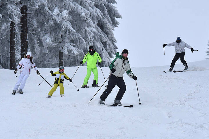 Sachsen hat jede Menge Skigebiete zu bieten.