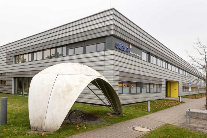 """Im """"Start-up""""-Gebäude am Technologie-Campus wurde das Programm für die """"Start-up-Week"""" vorgestellt."""