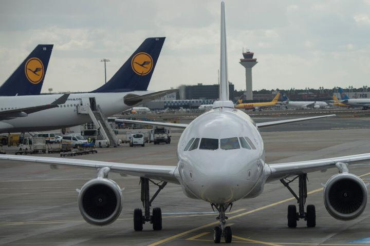 In Frankfurt war der Mann nach seiner Reise gelandet.