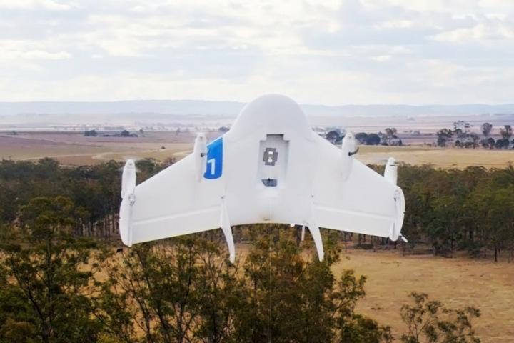Die Drohnen wurden bisher in Australien getestet.