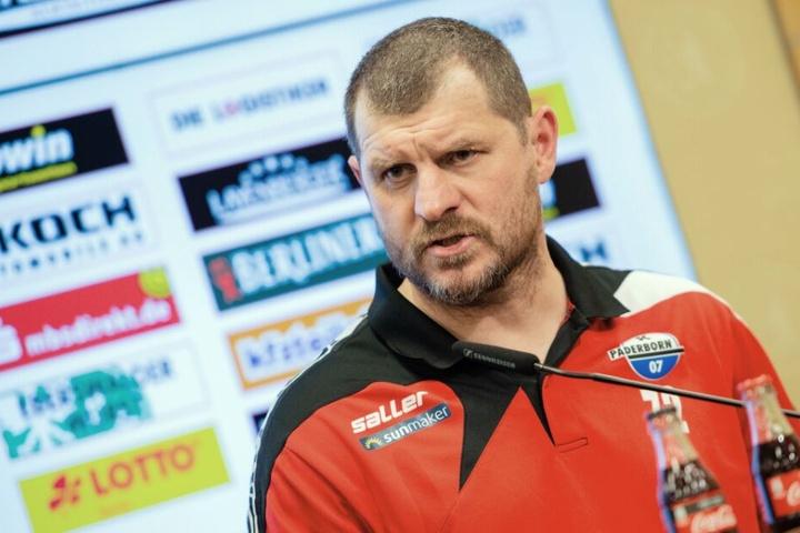 Schon vor dem Spiel wusste SCP-Coach Steffen Baumgart, dass das Duell gegen die Berliner ein Fight über 90 Minuten werden würde.