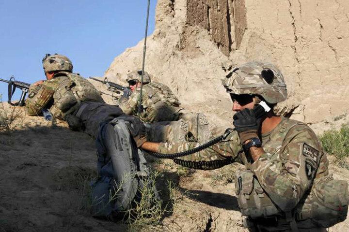 Derzeit sind noch 10.000 amerikanische Soldaten in Afghanistan stationiert.