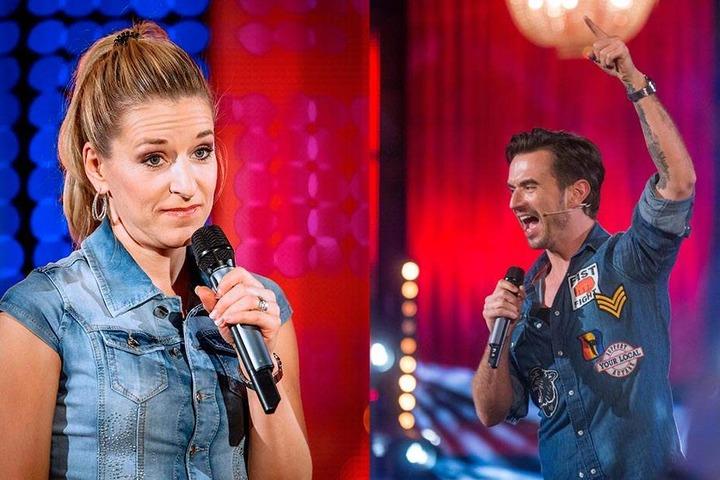 Stefanie Hertel (38) und Florian Silbereisen (36): Sie standen zusammen mit vielen anderen in Ross' Show auf der Bühne.