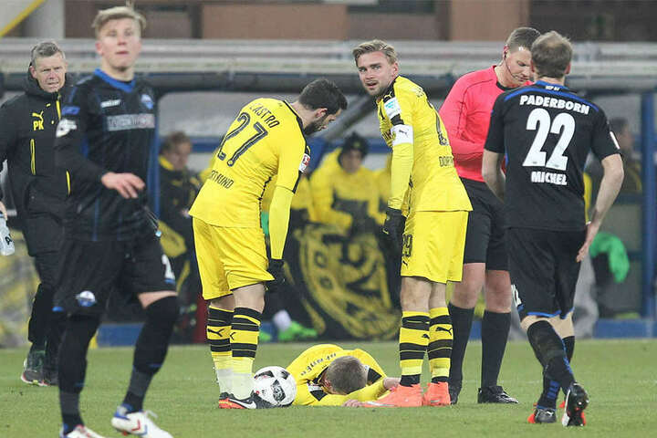 BVB-Profi Sven Bender wurde beim Test gegen den SCP verletzt.