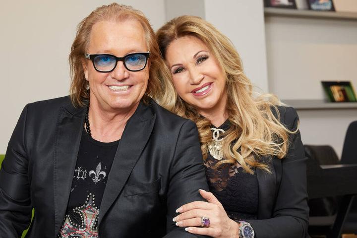 Robert Geiss und seine Frau Carmen.