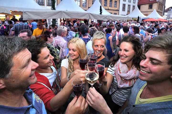 Der Weinmarkt ist ein absolutes Kult-Fest für die gesamte Region.