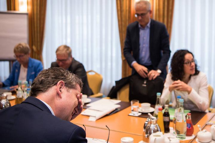 Am Donnerstag treffen sich Grüne, SPD und FDP zu ersten Bündnisgesprächen.