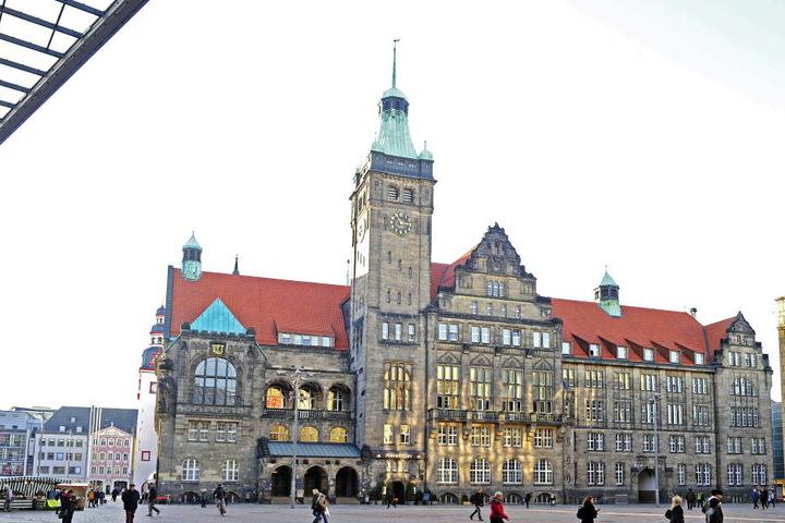 Das Chemnitzer Rathaus macht jetzt auch Feuer, um 2025 den Titel tragen zu dürfen.