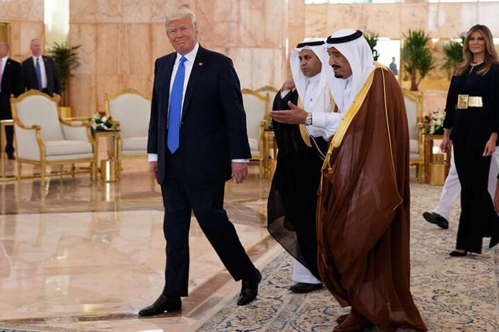 Mega-Deal für den US-Präsidenten Donald Trump.