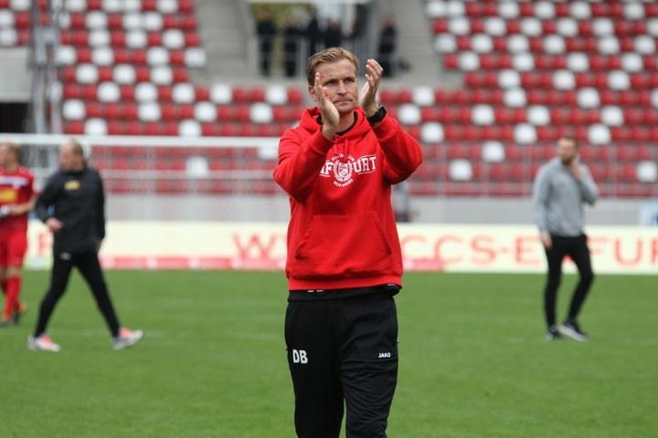 Trainer David Berger