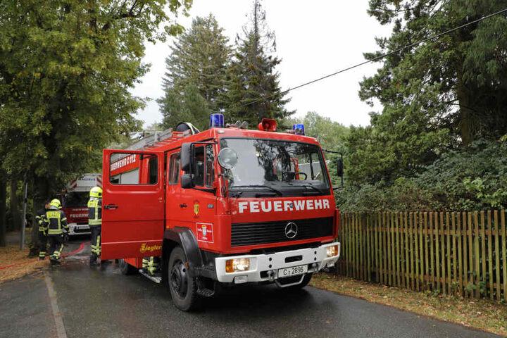 Gegen 17.00 Uhr wurde die Feuerwehr zum Richterweg wegen eines vermeintlichen Wohnungsbrandes gerufen.