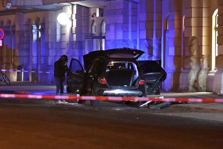 Im Februar entdeckten man in einem Auto am Dresdner Hauptbahnhof 18 Handgranaten.