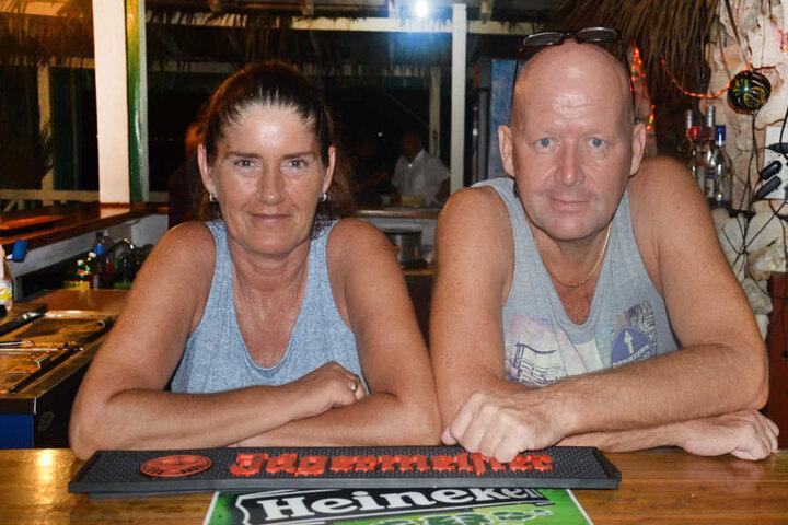 Dela (50) und Steffen Erhardt (53) kommen ursprünglich aus Buttstädt bei Weimar.
