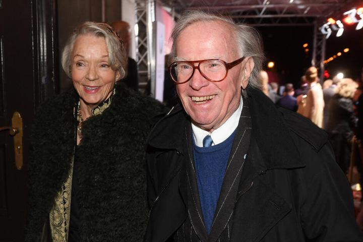 Komponist Klaus Doldinger und seine Frau Inge.