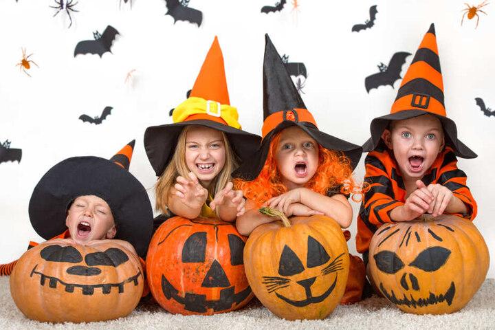 Kinder dürfen sich auf gruselige Halloween in Chemnitz und Umgebung freuen.