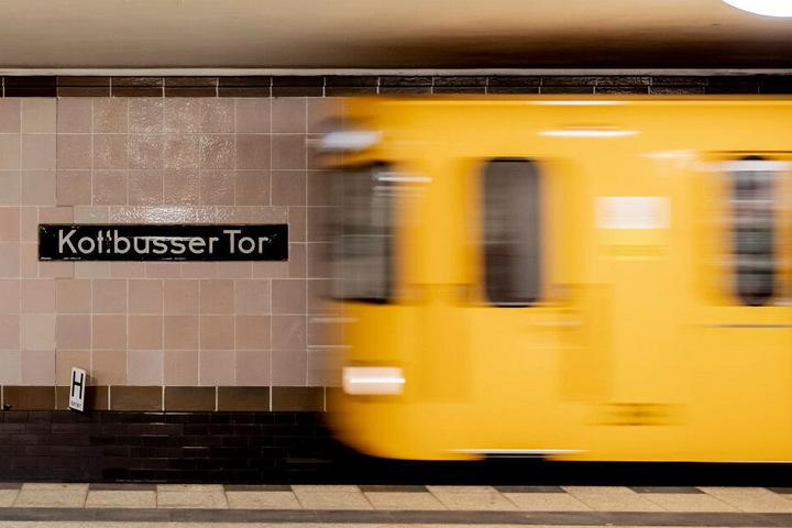 Am U-Bahnhof Kottbusser Tor kam es zum Streit. (Symbolbild)