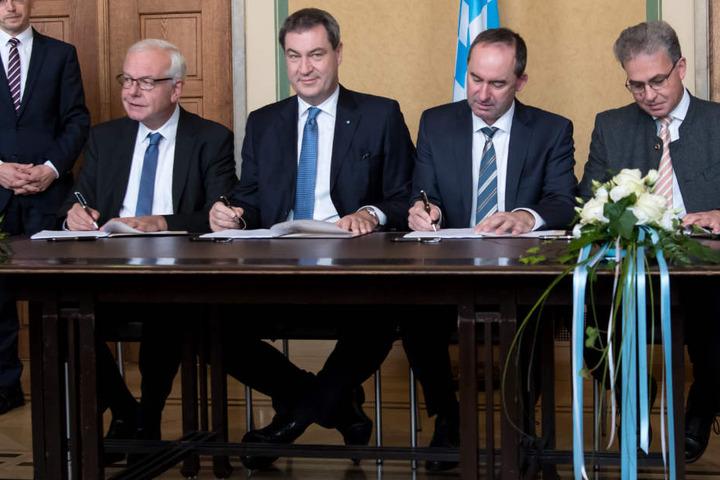 Vereinbarungen im frisch unterzeichneten Koalitionsvertrag machen einigen Städten entlang der Donau Sorgen.