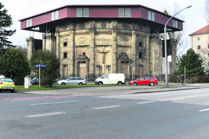 Das Lapidarium steht an der Ecke Nürnberger- und Hohe Straße.