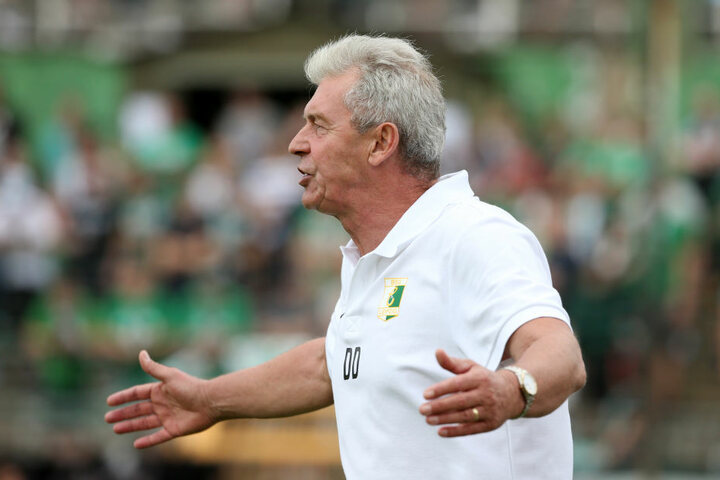 BSG-Coach Dietmar Demuth muss mit den Leutzschern zum SV Zeißig.