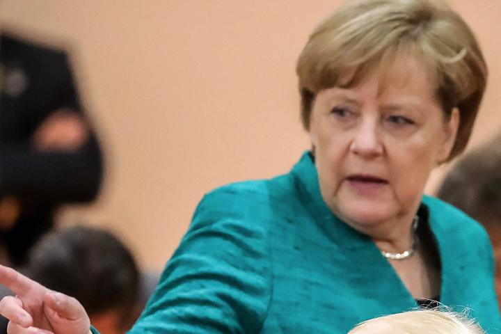 Bundeskanzlerin Angela Merkel gab am Samstag bekannt, über eine Entschädigung für die Opfer der G20-Krawalle zu beraten.
