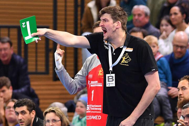 Trainer Rico Göde rechnet mit einem hochintensiven Match.