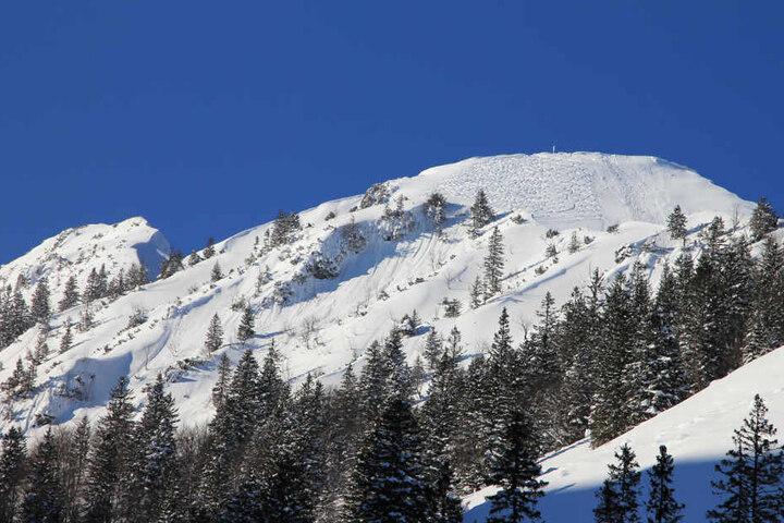 Das Drama passierte in den Chiemgauer Alpen.