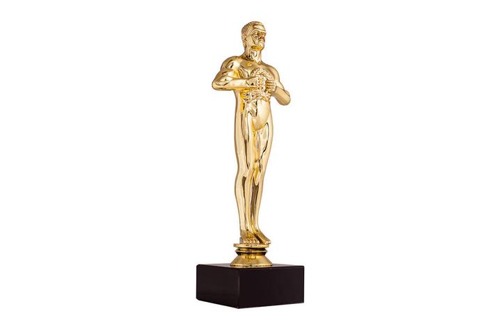 """Den Oscar, den DiCaprio für """"The Revenant"""" bekam, darf der Schauspieler behalten. (Symbolbild)"""
