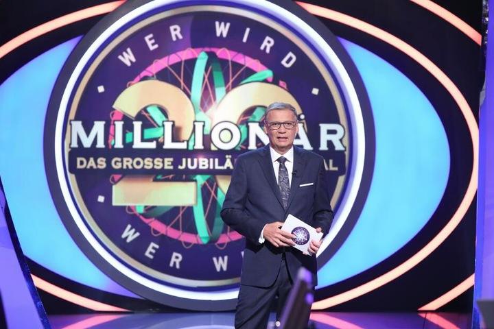Bis zur Jubiläumssendung befragte Günther Jauch bisher 2800 Kandidaten.