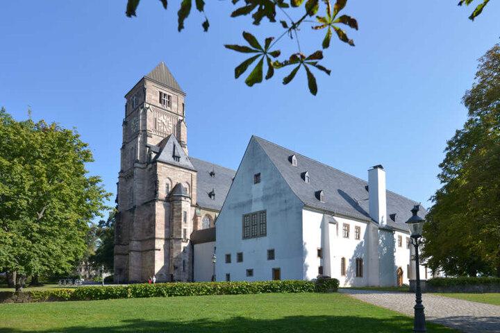 """Im """"Schloß zu Chemnitz"""" wurden die Ritter gemustert - jetzt zeigt das Museum eine Ausstellung über Fechtkünste."""