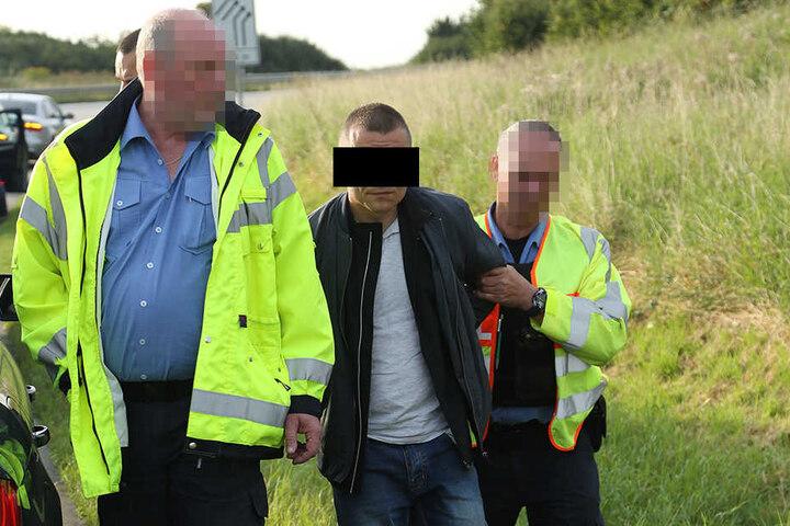 Die Polizei konnte den Mann nach einiger Zeit schnappen.