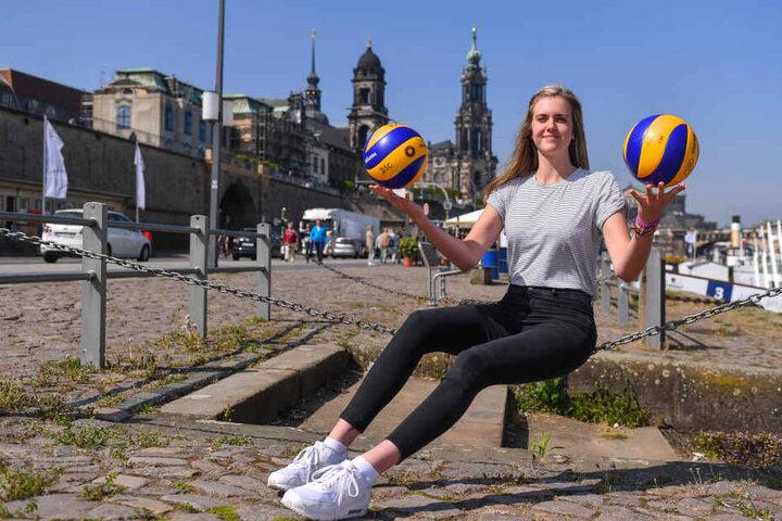 Cyris ist 1,90 Meter groß und gilt das das Top-Talent Deutschlands auf der Außenangreifer-Position.