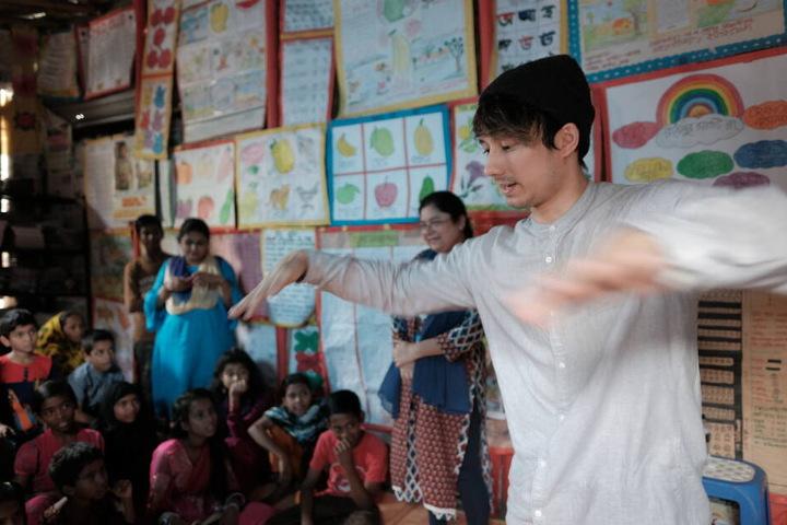 Auf seinem YouTube-Kanal will Julien Bam künftig um Spenden für die Unicef-Arbeit in Bangladesch bitten.