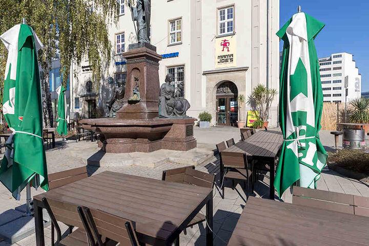 Im September eröffnet am Johannisplatz die neue Ratsstube.