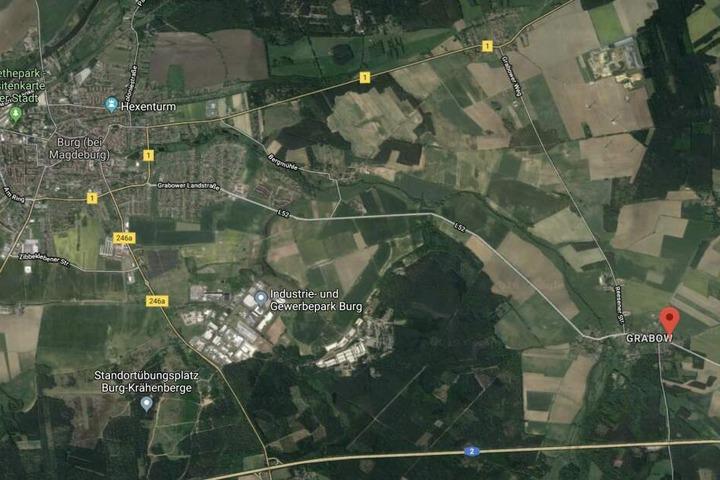 Zwischen Burg und Grabow geschah der tragische Unfall.