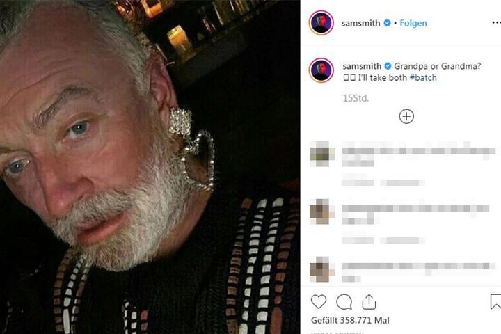 Würden Sie Pop-Star Sam Smith noch wiedererkennen?