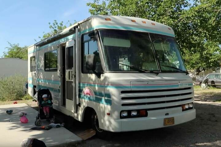 Im zweiten Teil ihrer Tour, gehts für die Familie durch den Westen der USA - mit diesem Wohnmobil.