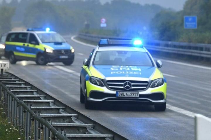 Die Polizei nahm den Unfall auf der A33 auf. (Symbolbild)