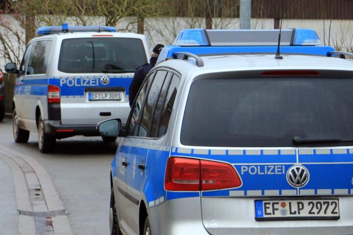 Mit einem Großaufgebot war die Polizei vor Ort.