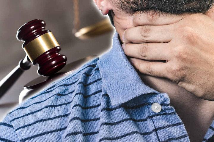Der Täter soll das 40 Jahre alte Opfer nach einem Streit Ende Dezember 2018 erwürgt haben. (Symbolbild/Bildmontage)