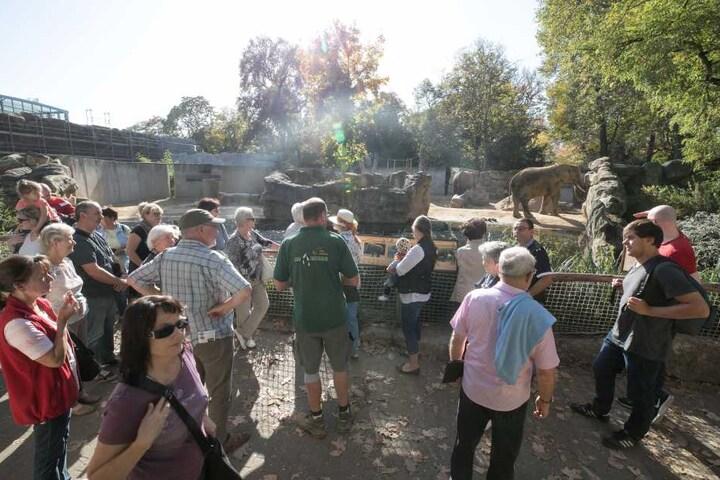 Am Sonntag kamen 15.000 Besucher in den Dresdner Zoo.