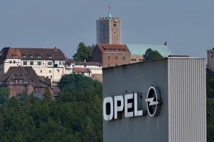 Im Opelwerk Eisenach wurden bisher der Corsa und der Adam gebaut.