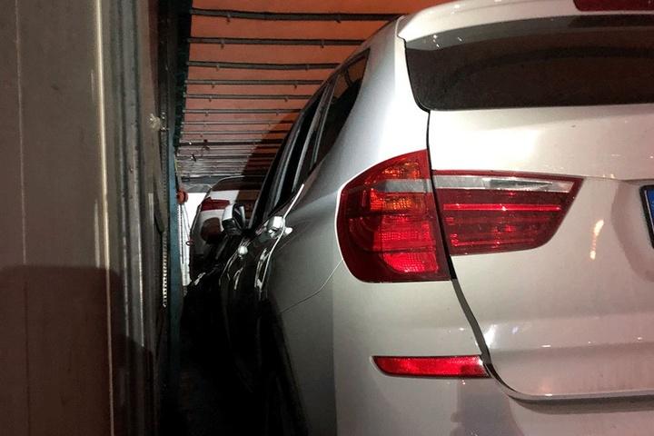 Alle drei BMW X3 wurden gestohlen.