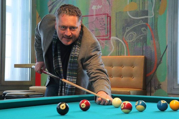 Andreas Pomplun (52) will das Standesamt sowohl als Club als auch als Eventlocation für Firmen- und Familienfeiern etablieren.