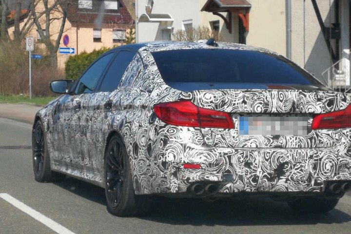 Durch Borna könnte am Sonntagnachmittag ein neuer 3er- oder 5-er BMW gerollt sein.