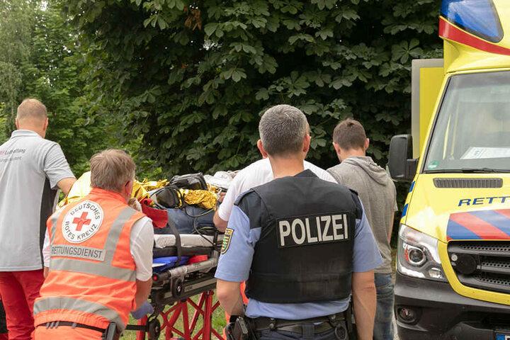 Der Pole zog sich bei dem Crash in Bischofswerda schwere Verletzungen zu, musste mit einem Rettungshubschrauber in die Klinik gebracht werden. Bleibende Schäden hat er nicht davongetragen.