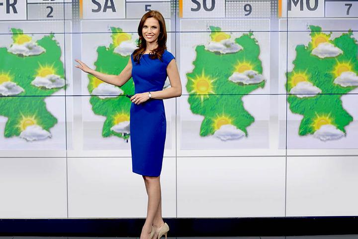 Eis, Eis, Baby: Als Wetterfee bei N24 warnt die Moderatorin davor, privat isst sie es am liebsten täglich.