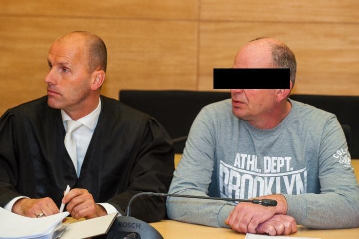Der Angeklagte Markus W. muss sich wegen Totschlags vor Gericht verantworten.