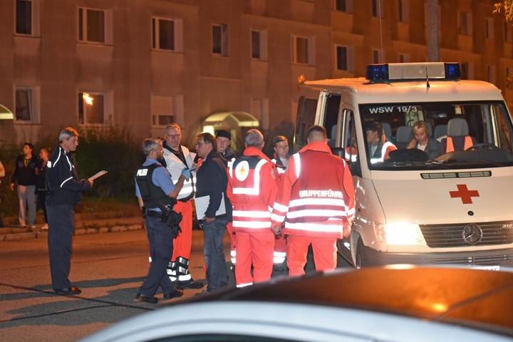 Rund 20 Kameraden der Feuerwehr waren im Einsatz, dazu einige Rettungskräfte.