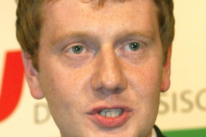 Seit 2005 im Amt: Mit 29 Jahren wurde Michael Kretschmer zum CDU-Generalsekretär gewählt.
